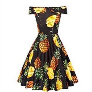 NWT Vintage style off the shoulder dress